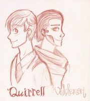 +Quirrell and Voldy+ by Aidkx