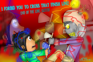 End Of The Line, Glitch! by coopermania3936