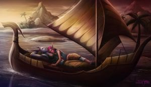 Holiday Rest: Daia and Ashe by Serathus