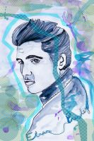 Elvis Presley by lightsofreason