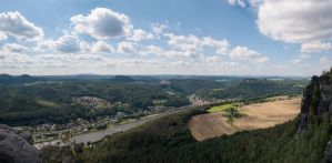 Lilienstein view by BSOD90