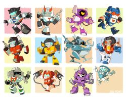 Transformer G1+MTMTE Chibis by dou-hong