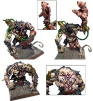 Skaven Rat Ogres by Innerwolf88