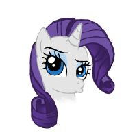 Not amused Rarity by FinnishGirl97