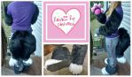 Pieces finished collage by Kawaii-fur-costumes
