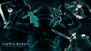 Kirito - SAO: Wallpaper by JuaNegro