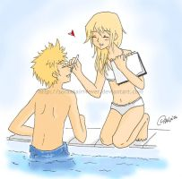 Roxas_and_Namine :3 by soraxkairi4ever
