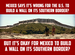 Mexico Southern Border Wall With Guatemala, Belize by CaciqueCaribe