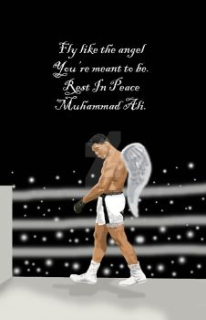 Muhammad Ali Tribute by puebloone