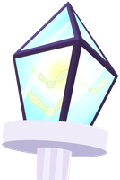 MLP Resource: Fairy-Light Lamp Post by mewtwo-EX
