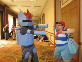 A-Kon 23: Ninten vs. R-Dash 5000! by Inept-Evil-Genius