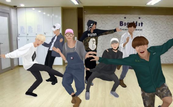 Memories Of Baepsae Dance Practice - BTS by LailaYin