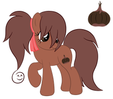 OC Ref: Castanea the Earth Pony by SilverRomance