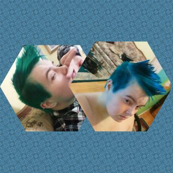 Hair dye Currently by ChrisIsXavier