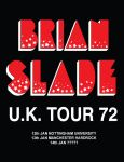 Brian Slade UK Tour 72 Poster by Ificial-Art