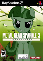 Metal Gear Sparkle 3: Subsistence by nickyv917