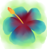 Hibiscus by LeftyNinja