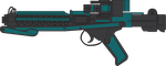 Changling soldier E-11 Blaster by Stu-artMcmoy17