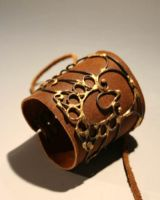 Wirework armlet by dracontia