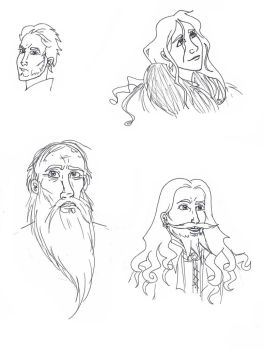 Characters of Ice and Fire 6 by CyanideMilkshake