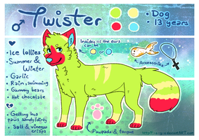 Twister Reference Sheet by Fayven