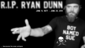 R.I.P. Ryan Dunn by bunnynko