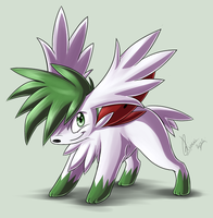 +Shaymin Sky Form+ by Intellectual-Panda