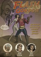 Flash Gordon by sirandal