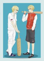 Request: Cricket VS Baseball by innes-chan
