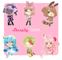 comm b. 1++ Sheepily++ by Aluie