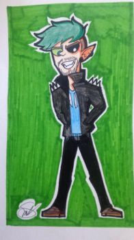 Past AntiJacksepticeye by Rocker2point0