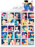 New Icons to Detective Conan 2 by Ayato-msoms