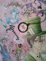 Soul Eater in Wonderland by Z-Raid