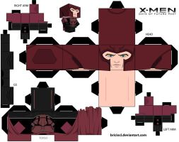 Magneto Cubeecraft by MGTTrailers