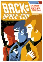'back to space-con' dvd cover by strongstuff