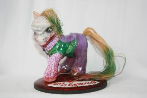 The Joker MLP Custom Front by BlackAngel-Diana