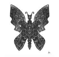 mechanical butterfly cliche by HiViH