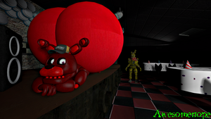 [SFM FNaF Fetish Request] Mignon's Seductive Butt by Awesomenope