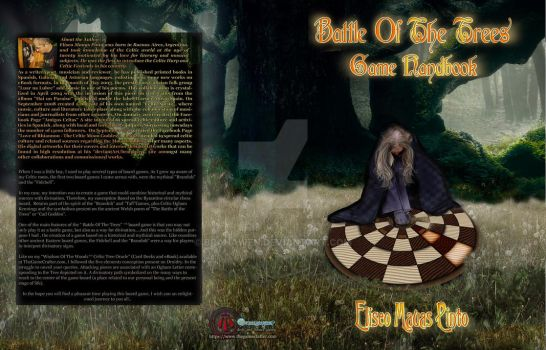 Battle Of the Trees - Game Handbook Cover Artwork by Branawen