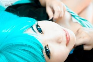 Waking up~ Miku Hatsune by AEimAginE