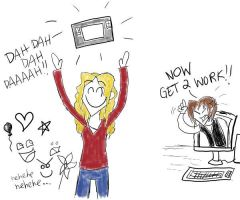 TABLET. I HAS ONE. by CrystalKaleidescope