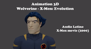 Wolverine - X-Men: Evolution 3D model by amyrose7
