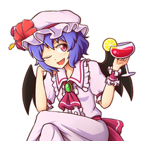 Remilia by miwol
