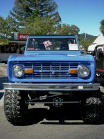 Tall Ford Bronco Front by RoadTripDog