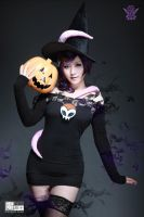 Zone-Tan Halloween Cosplay by aoandou