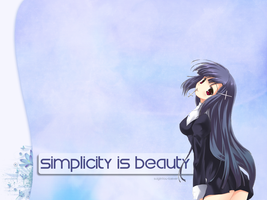 Simplicity is Beauty by suigintou-loever
