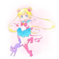 sailor moon by CuteRobot