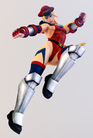 Cammy 3DS Render by x2gon