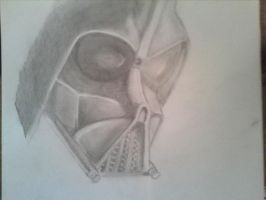 Darth vader by Drawade