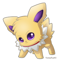 Commission: Fai the Jolteon by RainbowRose912